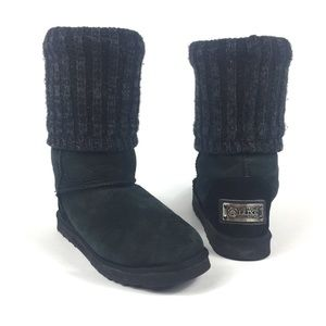 Australia Luxe Collective Knit Tall Black Boots 8